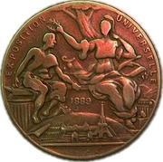 Medal Exposition Universelle - PARIS 1889 – obverse