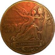 Medal Exposition Universelle - PARIS 1889 – reverse