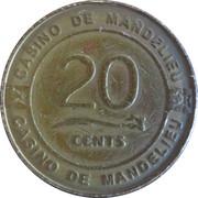 20 Cents - Casino de Mandelieu – obverse