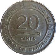 20 Cents - Casino de Mandelieu – reverse