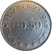 50 Cents - Casino de Montrond – obverse