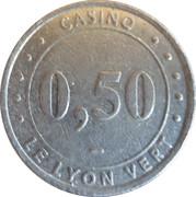 50 Cents - Casino le Lyon vert (Groupe Partouche) – obverse