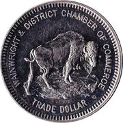 Trade Dollar - Wainwright, Alberta – reverse
