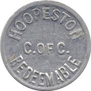¼ Cent - Hoopeston (Illinois) – obverse