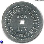 50 Centimes Paqué & F.Meurant - Boulogne sur Mer [62] – obverse