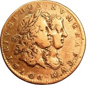 Token - Louis XIV and Maria-Theresia – obverse