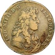Louis XIV - Batiments du Roi – obverse