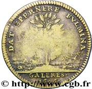 Louis XIV - Galeres Royales – reverse