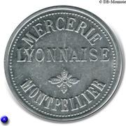 25 Centimes (Bon Pour) - Mercerie Lyonnaise - Montpellier [34] – obverse