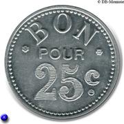 25 Centimes (Bon Pour) - Mercerie Lyonnaise - Montpellier [34] – reverse