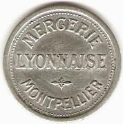 25 Centimes - Cerie Lyonnaise - Montpellier [34] – obverse