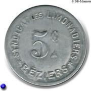 5 Centimes - Syndicat des limonadiers (Béziers) – obverse