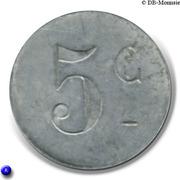 5 Centimes - Syndicat des limonadiers (Béziers) – reverse