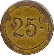 25 Centimes - L'Avenir Régional- Lyon [69] – reverse