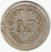 5 Francs M F - Manufacture Française d'Armes et cycles - Saint-Etienne [42] – obverse