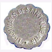 5 CENTIMES TRAMWAYS DE ST QUENTIN – obverse