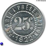 25 Centimes - Galeries Modernes - G.Peyrière - Réalmont [81] – reverse