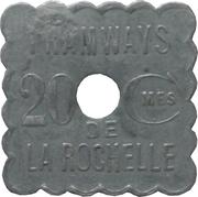 20 Centimes - Tramways - La Rochelle [17] – obverse
