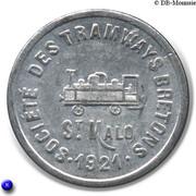 10 Centimes Societe des Tramways bretons St Malo 35 – obverse