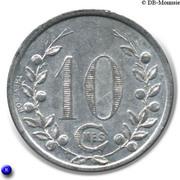 10 Centimes Societe des Tramways bretons St Malo 35 – reverse