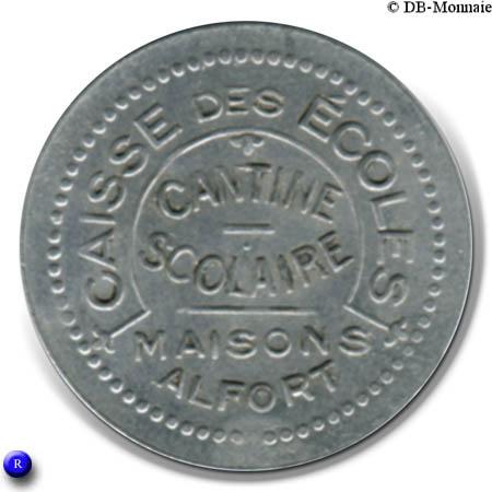 2 francs caisse des coles cantine scolaire maisons for Adresse ecole veterinaire maison alfort