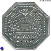 3 Francs - Caisse des écoles - Cantine scolaire (Maisons-Alfort) – obverse