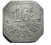 5 Centimes - 16eme Chasseurs – obverse