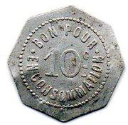 10 Centimes Sare 64 – reverse