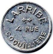 2 Francs - LARRIBE - 4 rue coquillière - Paris[75] – obverse