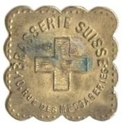 90 Centimes - Brasserie Suisse - Paris [75] – obverse