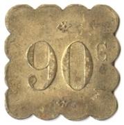90 Centimes - Brasserie Suisse - Paris [75] – reverse