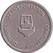 Token - Detroit Transportation Corporation (Detroit, MI) – obverse