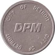 Token - Detroit Transportation Corporation (Detroit, MI) – reverse