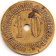 10 c. coopérative Pont-à-Mousson – reverse