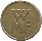 Token - WMF (small letters) – reverse