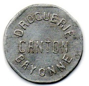 25 Centimes Bayonne 64 – obverse