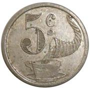 5 Centimes - Brulerie de Kursaal (Mazamet) – reverse