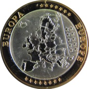 Token - European Currency (Belgium) – reverse