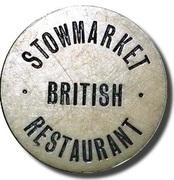 Token - Stowmarket British Restaurant – obverse