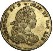 Jeton Louis XV - États d'Artois - COMITIA ARTESIAE – obverse