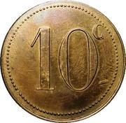10 Centimes - Syndicat des Limonadiers (Béziers) – reverse