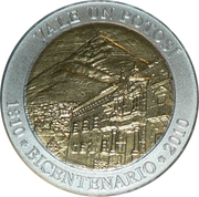 Token - Bicentennial of Bolivia – obverse