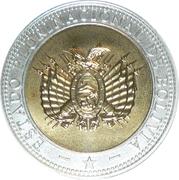 Token - Bicentennial of Bolivia – reverse