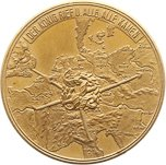 Medal - Mobilization World War 1 (Message Emperor Aug, 22 1914) – obverse