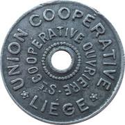 50 Centimes - Union Coopérative (Liège) – obverse