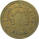 25 Centimes - Aux Deux Maisons (Evere)RE – obverse