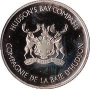 5 Dollars - Hudson's Bay Company – obverse