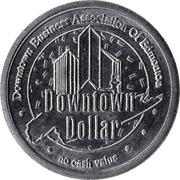 Downtown Dollar - Edmonton, Alberta – reverse
