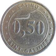 50 Cents - Casino Saint-Galmier (Groupe Partouche) – obverse