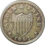 1 Cent (Alden & Frink) – obverse